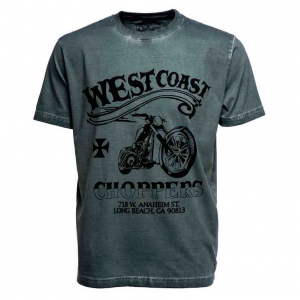 T-shirt West Coast Choppers Divide and Conquer Nero vintage