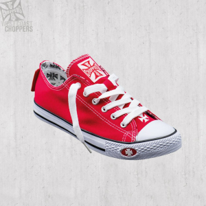 Scarpe West Coast Choppers Warriors Low Top Rosso