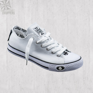 Scarpe West Coast Choppers Warriors Low Top Bianco