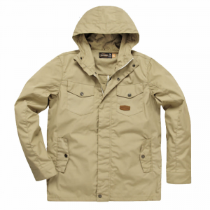 Giacca moto estiva West Coast Choppers JJW Summer Parka Beige