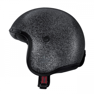 Casco jet Caberg Jet Freeride Metal Flake Nero