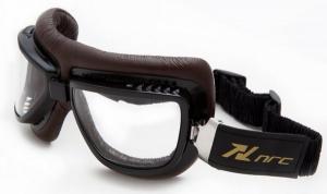 NRC EYE R 6.2B Occhiali da Moto - Marrone