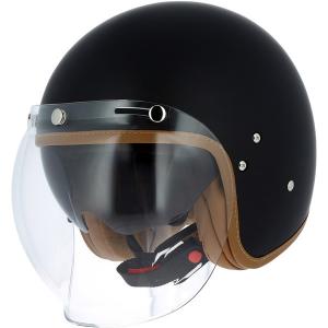 ASTONE VINTAGE Jet Helmet - Matt Black