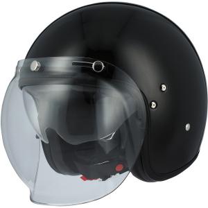 ASTONE VINTAGE Jet Helmet - Gloss Black