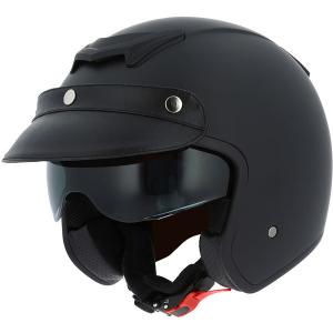 ASTONE SPORTSTER 2 MONOCOLOR Jet Helmet - Matt Black