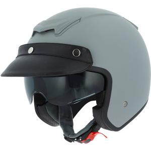 ASTONE SPORTSTER 2 MONOCOLOR Jet Helmet - Matt Grey