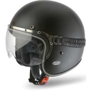AIROH GARAGE Jet Helmet - Matt Black