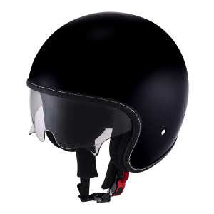 SUOMY ROKK PLAIN Casco Jet - Nero