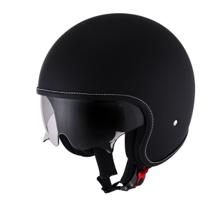SUOMY ROKK PLAIN Casco Jet - Nero Opaco