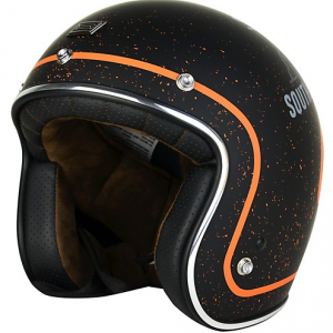 ORIGINE PRIMO WEST COAST Casco Jet - Nero e Arancione