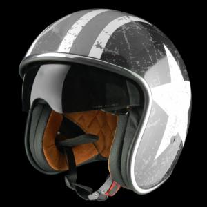 ORIGINE SPRINT REBEL STAR Casco Jet - Grigio opaco