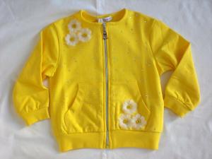 Felpa gialla neonata
