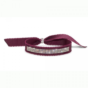 BRACCIALETTO DROLLY DARK RED CRISTALLO AB, OLIVER WEBER