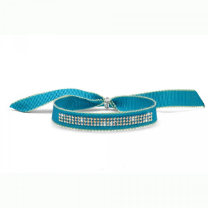 BRACCIALETTO DROLLY TURQUOISE CRYSTAL AB, OLIVER WEBER