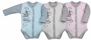 ZEBRA - body classico neonato in 100 % cotone