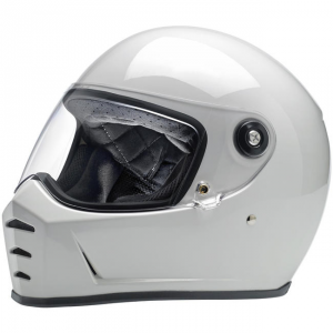 BILTWELL LANE SPLITTER GLOSS WHITE Full Face Helmet - White