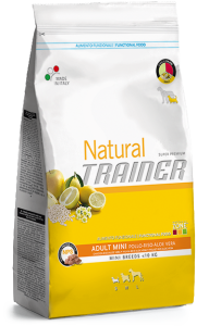 Natural Trainer Adult Small & Toy con pollo