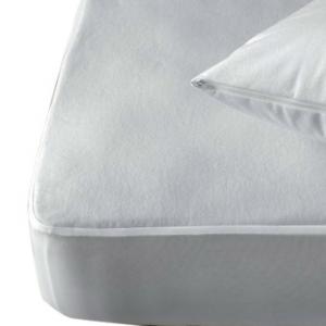 Lenzuolo salvamaterasso in spugna di cotone con angoli e membrana impermeabile 120 x 60