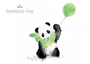 LITTLE PRINCE - Bamboo-line - asciugamano con cappuccio in 100 % spugna di bamboo 85 x 85