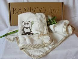 PANDA - Bamboo-line - Guanto in spugna di bamboo 100 %