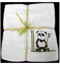 PANDA - Bamboo-line - Telo bagno (70 x 140) in spugna di bamboo al 100 %