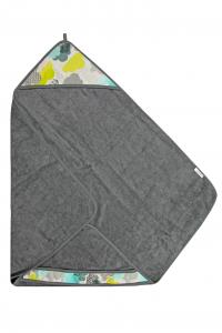 NUVOLETTE - Bamboo-line - Asciugamano con cappuccio in spugna di bamboo al 100 %