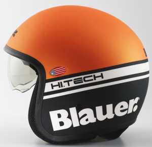 BLAUER PILOT 1.1 Jet Helmet - Matt Orange