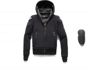 BLAUER EASY MAN 1.1 Motorcycle Textile Jacket - Asphalt Black