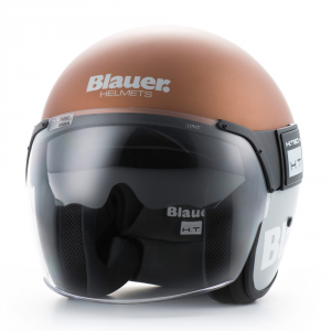 BLAUER POD Jet Helmet - Bronze and Grey