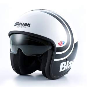 BLAUER PILOT 2.0 Jet Helmet - White and Black