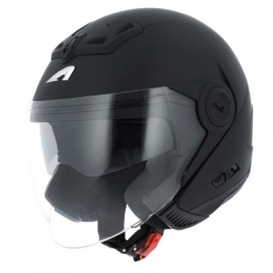CASCO MOTO JET ASTONE DJ8 BLACK MATT