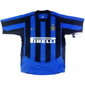 2003-04 Inter Maglia Home  *Cartellino e Confezione