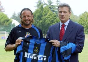 2004-05 Inter Maglia Home Ragazzo *Cartellino
