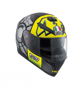 CASCO MOTO AGV INTEGRALE K-3 WINTER TEST 2012, TAGLIA S
