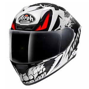 CASCO MOTO INTEGRALE AIROH VALOR BONE MATT VABO35