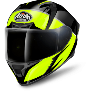 CASCO MOTO INTEGRALE AIROH VALOR ECLIPSE YELLOW GLOSS VAEC31