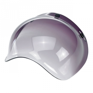 BILTWELL BUBBLE SMOKE GRADIENT Visiera Casco - Trasparente Scuro