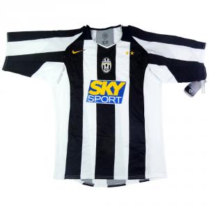 2004-05 Juventus Maglia Home  *Cartellino
