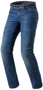 Jeans moto Rev'it Austin TF blu medio L32