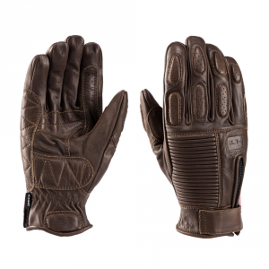 BLAUER BANNER Motorcycle Gloves - Brown