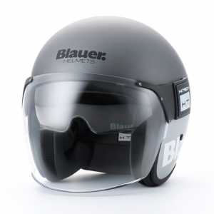 BLAUER POD Jet Helmet - Titanium Grey and Dark Grey