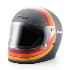 BLAUER 80S Full Face Helmet - Matt Titanium Grey