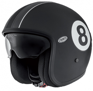 PREMIER VINTAGE EIGHT 9BM Casco Jet - Nero