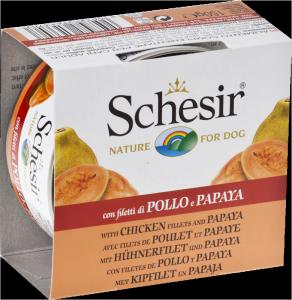 Schesir cane umido Pollo Frutta 150 gr.