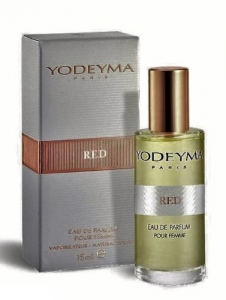 Yodeyma RED Eau de Toilette 15ml mini Profumo Donna Scatola
