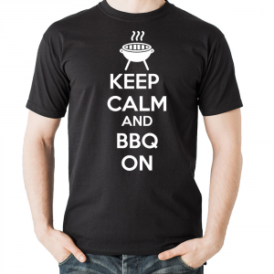 Tshirt Keep calm bbq