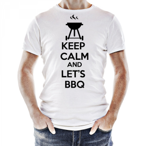 Tshirt Keep calm Let's BBQ