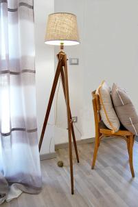 Lampada vintage cavalletto antico