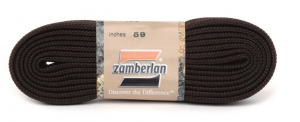 ZAMBERLAN® REPLACEMENT FLAT LACES   -   Coffee