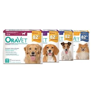 OraVet gum per l' igiene Dentale disponibile in quattro taglie